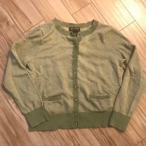 Eddie Bauer Cotton/Cashmere Cardigan Sweater